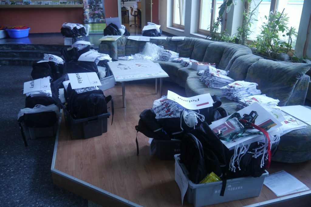Preparing the Welcome Packages